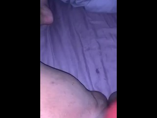 Teens Creamy wet pussy getting fucked with dildo