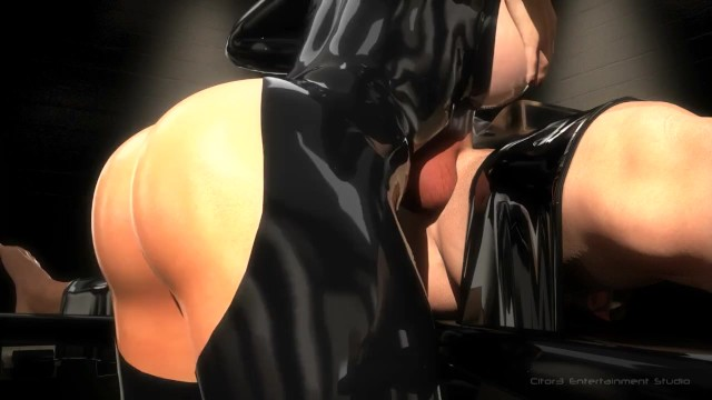 Busty free polish Sfm 3d busty bondage makes slave cum multiple times blowjob, facesit