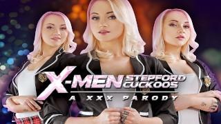 在XMEN STEPFORD CUCKOOS A XXX PARODY中他妈的玛丽莲糖