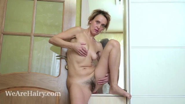 Chafing of penis after masturbation - Ivanna masturbates after changing in her wardrobe