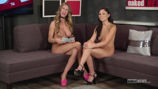 Ariana Marie, Stoya and more on Naked News!