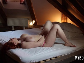 Hidden Cam When Alexsis Faye Masturbate In Pink Lingerie