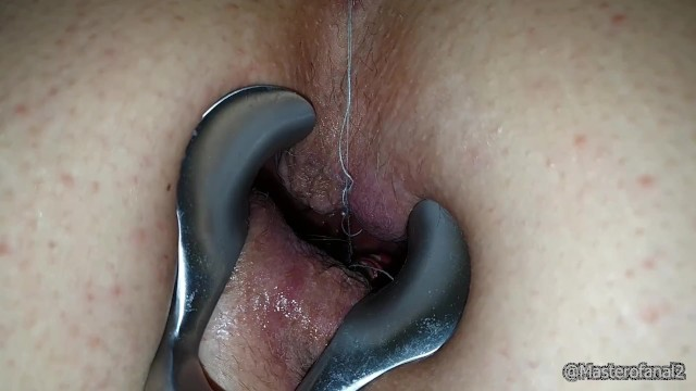 Prolapse speculum porn Giantess pussy and anal vore - farting and speculum