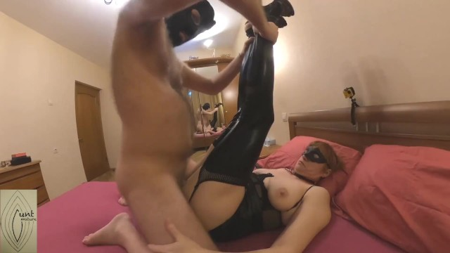 Teen pussy cunt stockings free pictures Milf fucked in pvc stockings and fed with creampie
