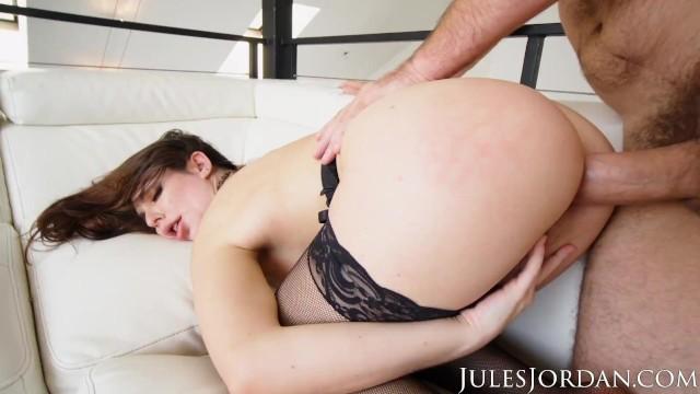 Jules Jordan - Keira Croft GAPES Her Ass For Manuel's Thick Cock
