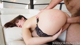 Jules Jordan – Keira Croft GAPES Her Ass For Manuel's Thick Cock