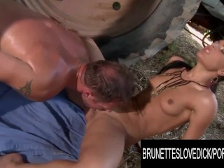 Dick honey demon enjoys while out on the...