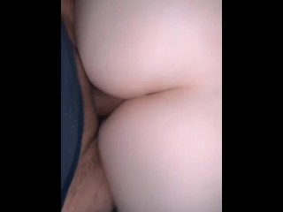 Quick blow job turns into me losing my anal virginity