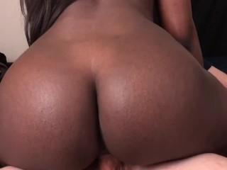 Black Teen Step Sister Takes Cum In Pussy