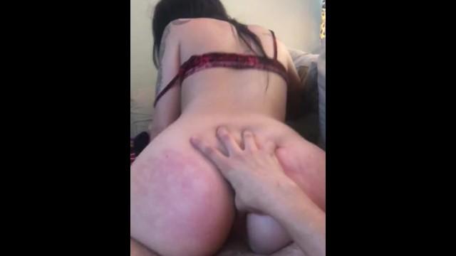 Rubbing My Dick Her Ass
