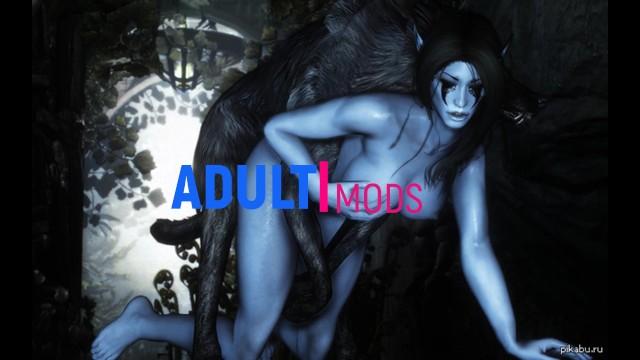 Attack sex sleep Ice monster attacked elf girl skyrim monster, 3d monster