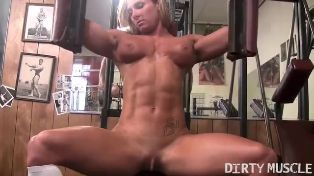 Nude woman rate there bodys - Sexy female bodybuilder shows off her crazy nude body