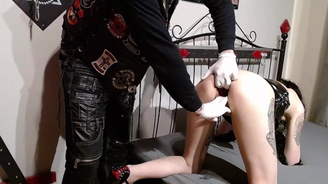 Penis enfection - Corona infected girl is fisted and fucked by members of a biker gang