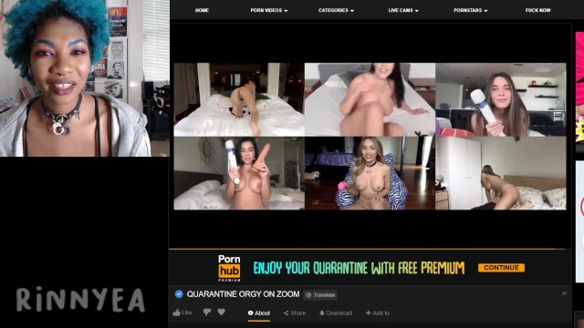 Luxxury sex with rich people - Naked people ep. 27 quarantine orgy on zoom