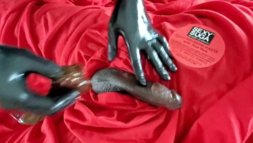 First Time getting dick wax cumming everywhere