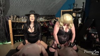 Two Slutty Mouths – Smoking, Spitting and Facesitting