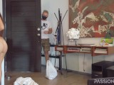 Nude delivery in quarantine time | Make deliveryman happy