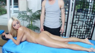 BANGBROS – Russian PAWG Nikita Jaymes Gets Massage & Some Dick As Well