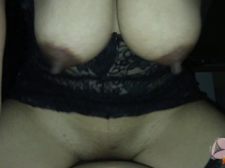 Thai Mature Ride a Dick Gets cum inside Pussy