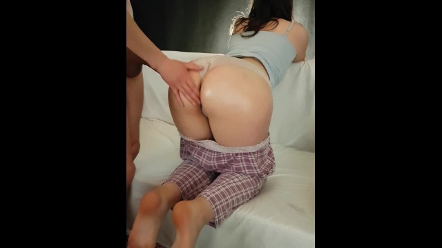 Girl ass pictures in panties Cumshot on college girl ass panties