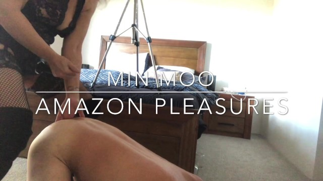 Ass eating full length scene - Amazon pegging cum drinking - full length up now min moo