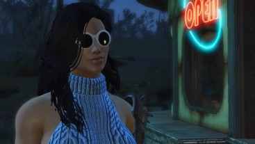 Fallout 4 porno video. Adult games. Persuaded the guy for romantic sex