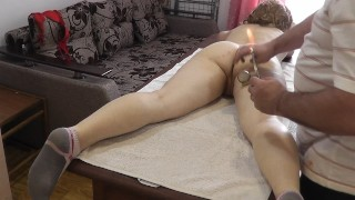 wives get nude massage