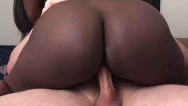 Interracial Quickie Creampie Before Work
