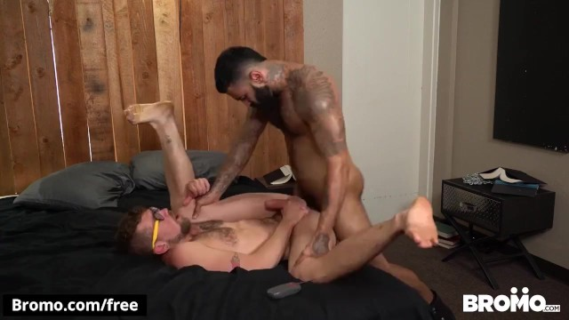 Gay village of new york Bromo - hipster botten gets pounded by hunk jay austin and rikk york
