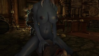 Sexy Girl Fucked By Multiple Riekling Monsters Skyrim Porn