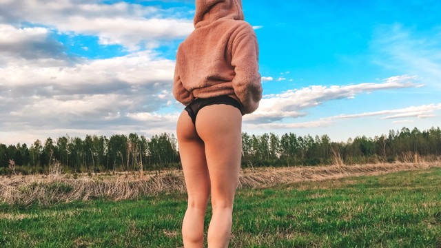 Sister in sperm Brother fucked younger sister on a walk in the woods