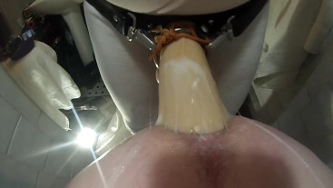 SUBMISSIVE HUSBAND- Painful Big Head Pegging