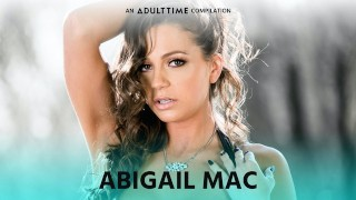 ADULT TIME Abigail Mac ALL GIRL Compilation – Orgy, Scissoring & More!