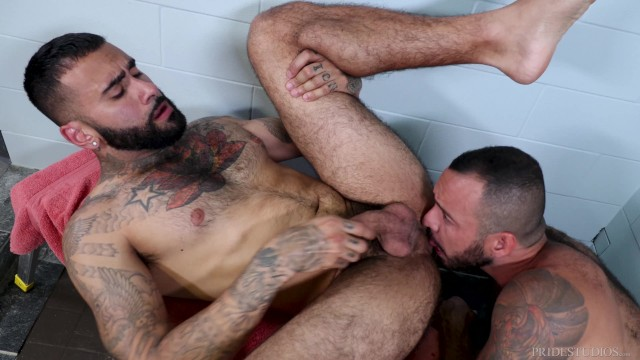 Gay swimming holes new york Menover30 - hairy hunks post-workout shower sex