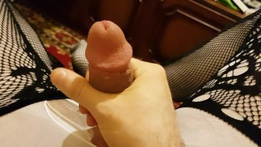Sissy Tranny Gets a Hard Fuck With Her Hand from her roommates at home.