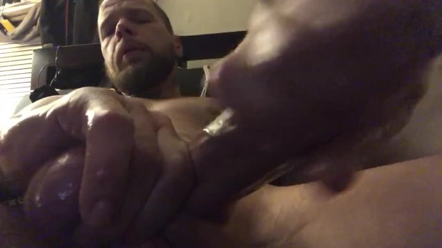 Cum far shooting Awesome hands free cum volcano, shoot down to my ankle