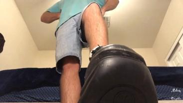Gay Boot Lick Mesmerize & Orgasm Denial POV