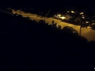 Courte Vidéo d'un autre couple de voisins qui baisent la fenêtre ouverte