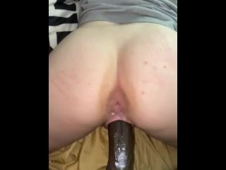 BBC MAKES HER CUM, SHE CALLS ME DADDY