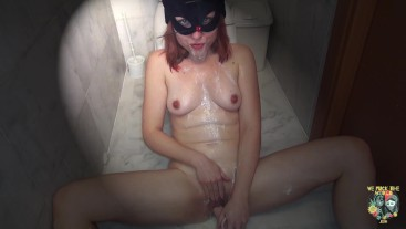 Disturbed Jana Haze - Masturbation, self throat fuck, pee