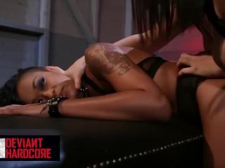 Deviant Hardcore – Sub Gabriella Paltrova gets dominated by Skin Diamond