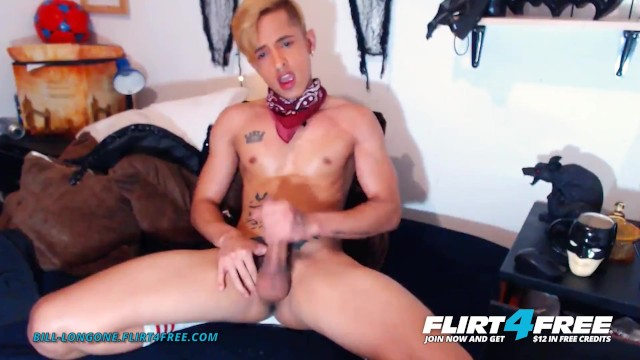 Gay sexy studs Bill longone on flirt4free - lean athletic latino stud jerks fingers ass