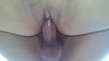 latina big fat pussy getting fucked hard until getting creampied deep insid
