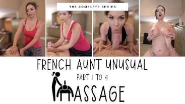FRENCH step-AUNT UNUSUAL MASSAGE - COMPLETE - IMMEGANLIVE - WCA PRODUCTIONS