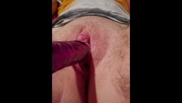 First time dildo fuck ftm transboy