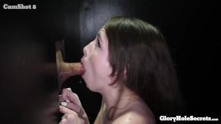 Brooke Eat the cum of 10 strangers