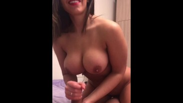 POV blowjob, fuck, cum on ass