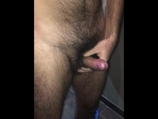 Hairy and uncut latino dick