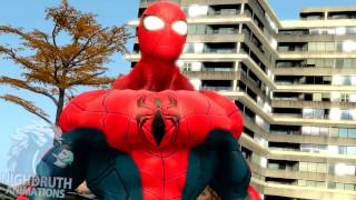 Najlepsze filmy porno - Spidermany Zasługiwały Na Wzrost Mięśni