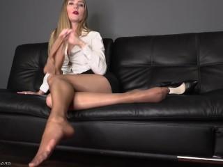 Leg fetish/goddess star wear nine